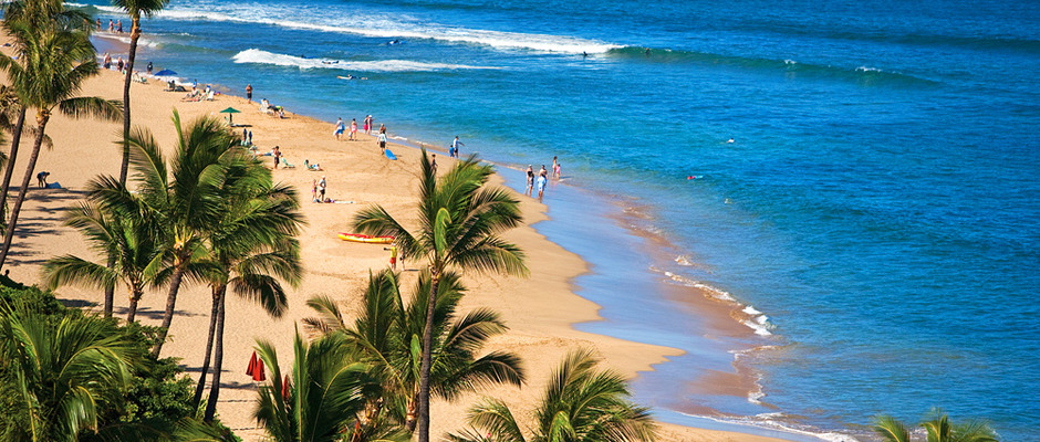 Kaanapali Beach image by Ron Dahlquist